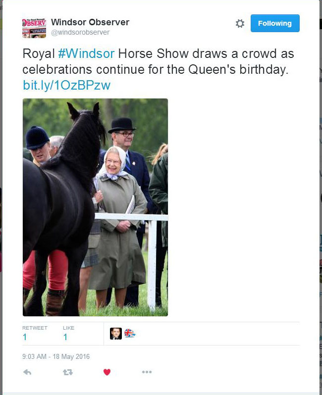 WIndsor Observer Queen Facebook a