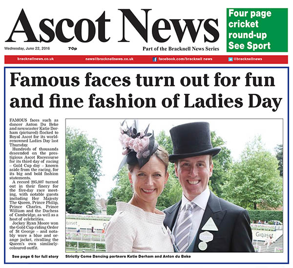 Ladies Day Ascot Blog